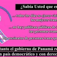 ¡Firma la petición por el fin de las violaciones a los derechos humanos de las personas trans en Panamá!