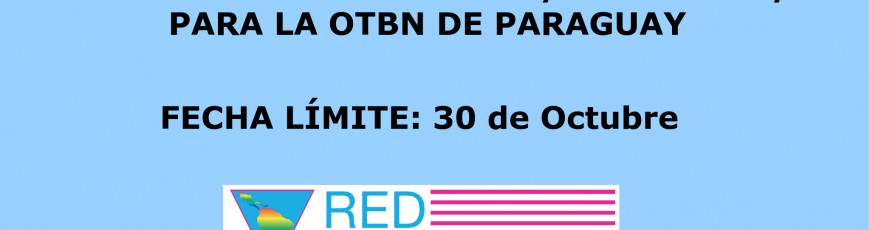REDLACTRANS EXTIENDE LA CONVOCATORIA PARA EL PUESTO DE ASESOR/A JURIDICO/A EN LA OTBN DE PARAGUAY