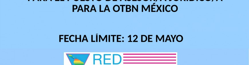 LA REDLACTRANS Y LA RED MEXICANA DE MUJERES TRANS AC ABREN LA CONVOCATORIA PARA  ASESOR/A JURÍDICO/A