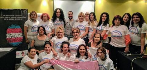 Lideresas Trans de América Latina y el Caribe se reunieron en Buenos Aires para participar de actividades de capacitación